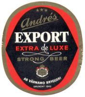 EXPORT extra de luxe Strong Beer