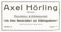 Axel Hörling