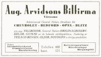 Aug. Arvidssons Bilfirma