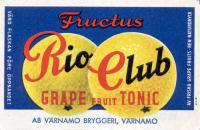 Fructus Rio Club Grape Fruit Tonic