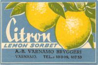 Citron Lemon Sorbet